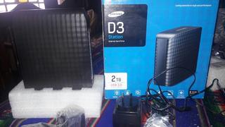 Memoria Externa Samsung 2td(external Hard Drive)impecable Si