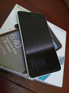 Microsoft Lumia 640 Xl Branco Tela 5.7 Semi Novo Dual Sim
