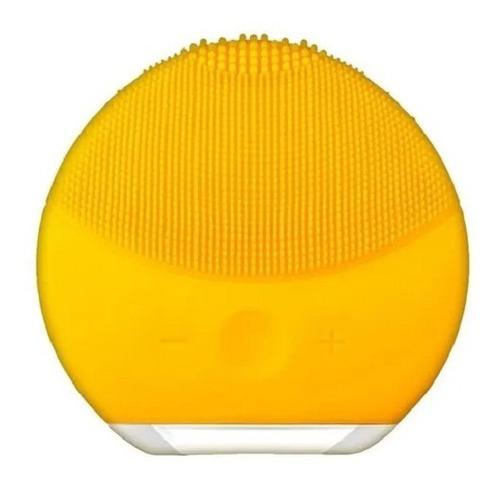 Limpiador Facial Masajeador Recargable Usb Fucsia