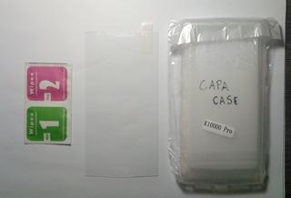 Pelicula De Vidro + Capa / Case - Oukitel K10000 Pro