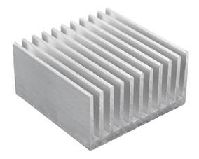 Chipcooler Dissipador Calor 4cm X 4cm X 2cm Alumínio Natural
