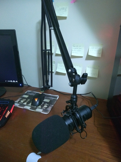 Microfone Arcano Am-black-1