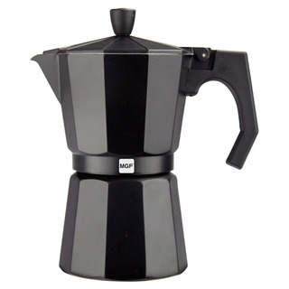 Magefesa Kenia Noir 9 Tazas De Café De Aluminio