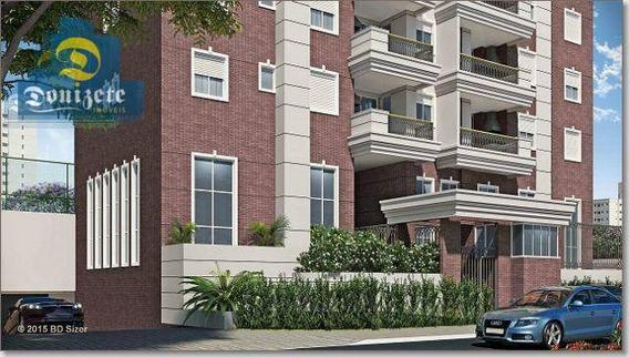 Apartamento Com 2 Dormitórios À Venda, 66 M² Por R$ 500.000,00 - Jardim - Santo André/sp - Ap10355