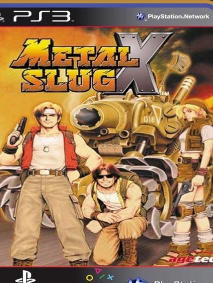 Metal Slug X Psone Classic - Ps3 Mídia Digital Original