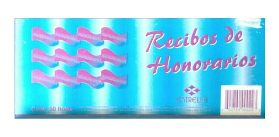 Block Recibo De Honorarios 50 Hojas Marca Estrella