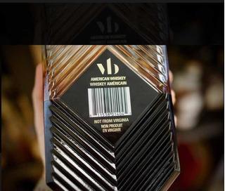 Whisky Virginia Black 750 Ml