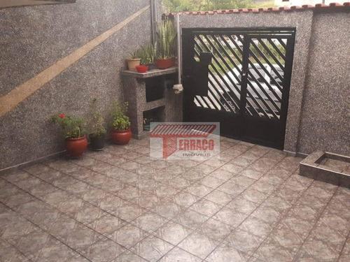 Imagem 1 de 21 de Casa Com 2 Dormitórios À Venda, 117 M² Por R$ 480.000,00 - Jardim Do Estádio - Santo André/sp - Ca0803