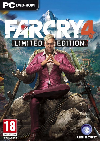 Far Cry 4 Pc Hd Original Envio Imediato!