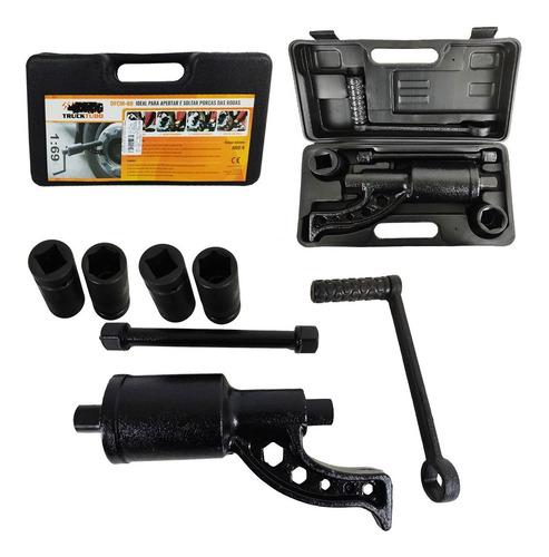 Desforcimetro Torqueador 580 Kgf C/ 4 Soquetes 24 30 32 33mm