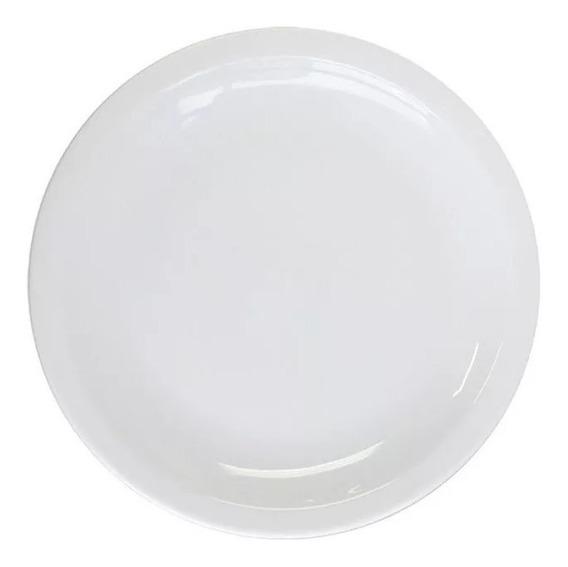 Plato Playo 25 Cm Gastronomico Porcelana Tsuji 450 X 12 Uni