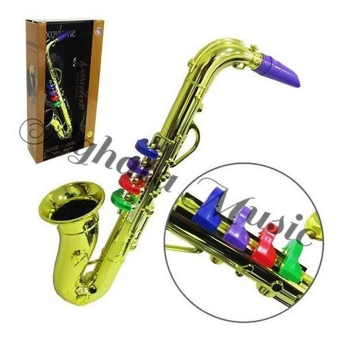 Sax Infantil Brinquedo Saxofone Instrumento Musical Crianças