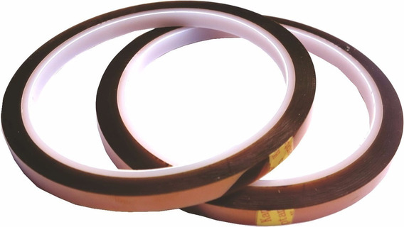 Fita Adesiva Térmica Para Sublimação 5mm X 33mm - 5 Und.
