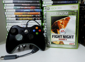 Fight Night Round 3 - Xbox 360 Original + Brinde