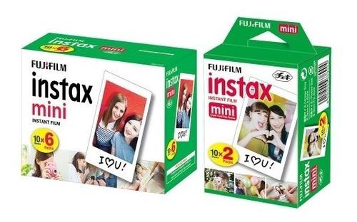 Kit Filmes Instax Fujifilm: White 60 Poses + White 20 Poses