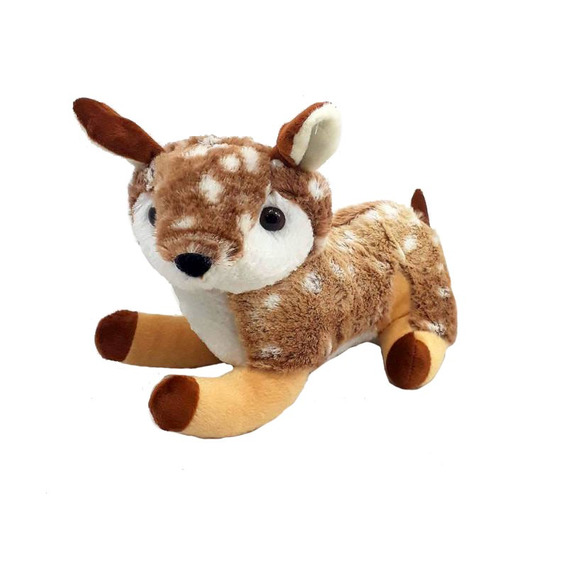 Bambi De Pelúcia 24 Cm Antialérgico Lavável Fofinho