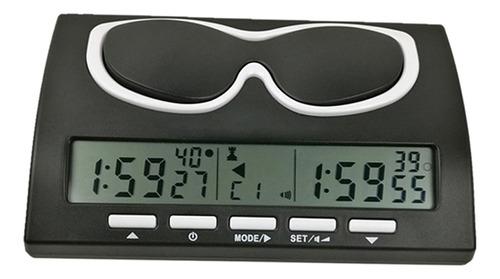 Imagen 1 de 12 de Temporizador De Ajedrez Digital Profesional Reloj De Ajedrez