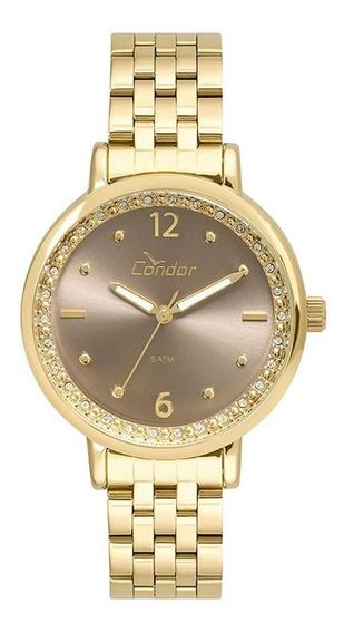 Relógio Condor Feminino Dourado Co2035fnf4m