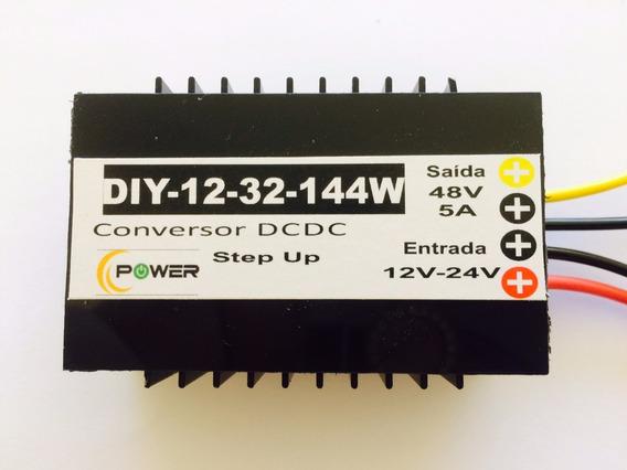 4 Conversores Entrada 12v-24v Saída 48v Dc 5a Boost Step Up.