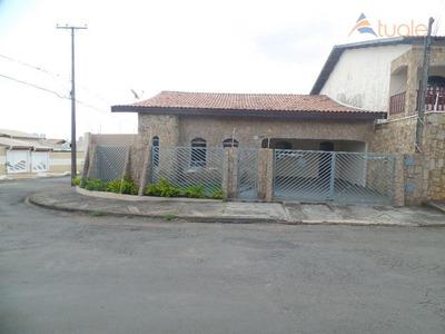 Casa Com 3 Dormitórios Para Alugar, 200 M² Por R$ 2.000/mês - Jardim Santa Luiza I - Nova Odessa/sp - Ca1767