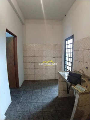 Casa Com 2 Dormitórios Para Alugar, Por R$ 650/mês - Jardim Vista Alegre - Santa Bárbara D