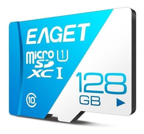 Tarjeta Microsd Eaget 128gb T1 Class 10 Xci