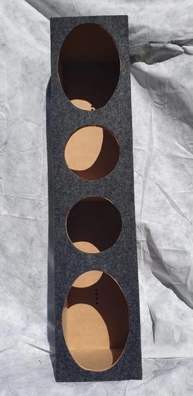 Raquera Bafle Cajon Caja P/ 2 Parlantes De 6x9 Y 2 De 6 1/2