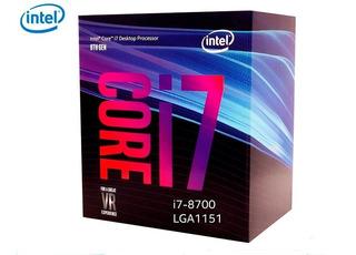 Procesador Intel Core I7-8700 Lga 1151 8va