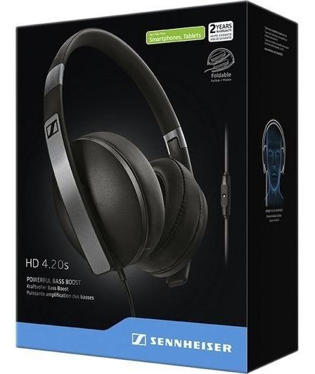 Sennheiser Hd 4.20 Fone De Ouvido Headset Dobrável Over-ear