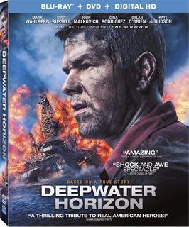 Blu-ray + Dvd Deepwater Horizon / Horizonte Profundo