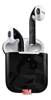 Capa Sticker Adesiva Camo 3m Apple Air Pods 2 Geração