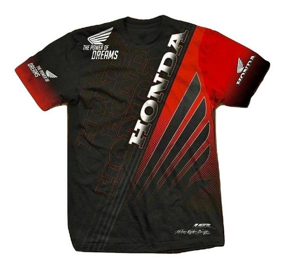 Remera Honda Urban Ryder Atv Motocross Utv