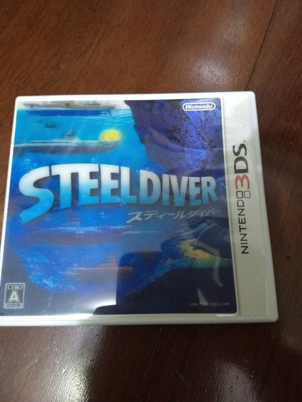 Steeldiver Jogo 3ds Japones [liquidação]