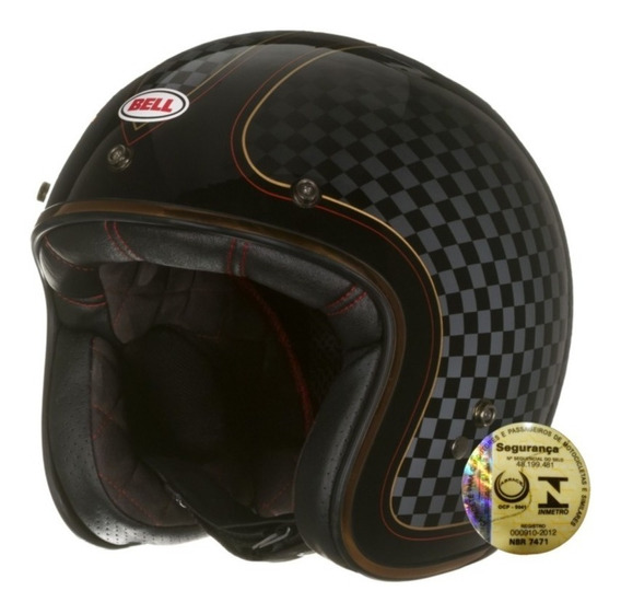 Capacete Aberto Bell Custom 500 Rsd Check It