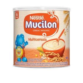 Mucilon Multicereais 400g Nestlé - Kit 6 Unidades