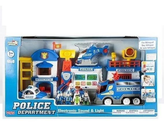 Estación De Policía Personajes Luz Y Sonido Little Learner
