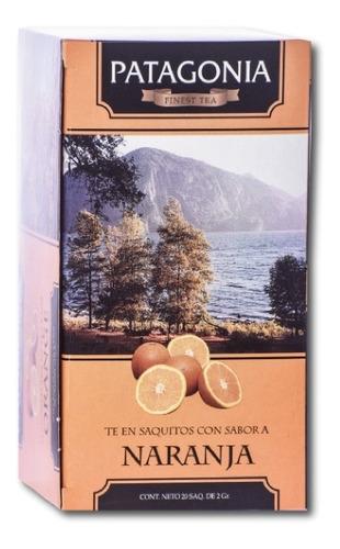 Imagen 1 de 2 de Te Patagonia Premium X 20 Saq. Naranja