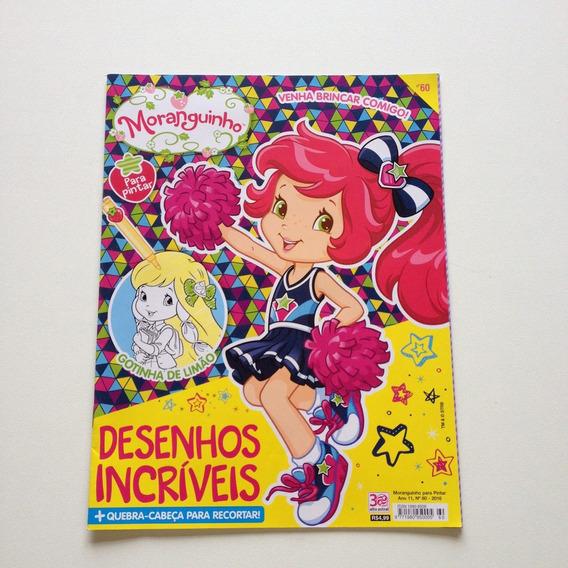 Revista Moranguinho Para Pintar Nº60 17 Páginas