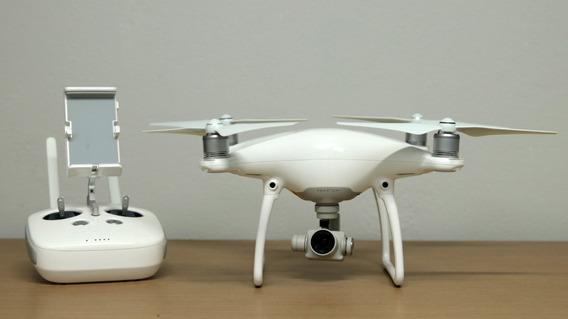 Drone Dji Phantom 4 Com Mochila Case - Semi Novo
