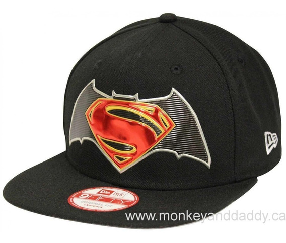 Gorra New Era Hombre Negra Batman Superman 11251887