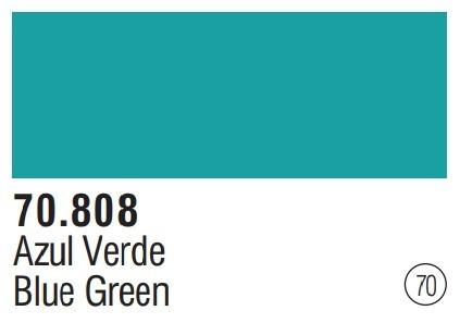 Tinta Blue Green 70808 Model Color Vallejo Modelismo