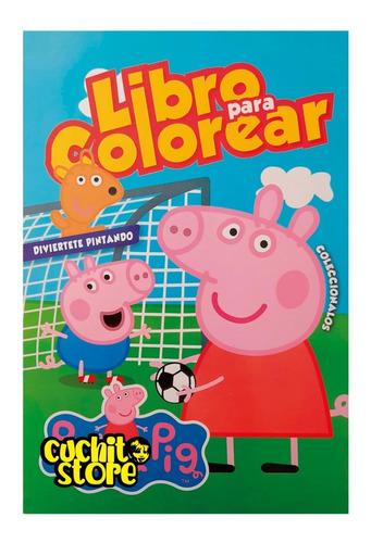 Libro Para Pintar Colorear Peppa Pig Y George