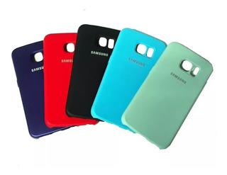 Case Capa Capinha Silicone Samsung Galaxy S6 Edge Original