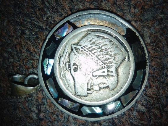 Medalla Antigua Estpada De Los Mayas