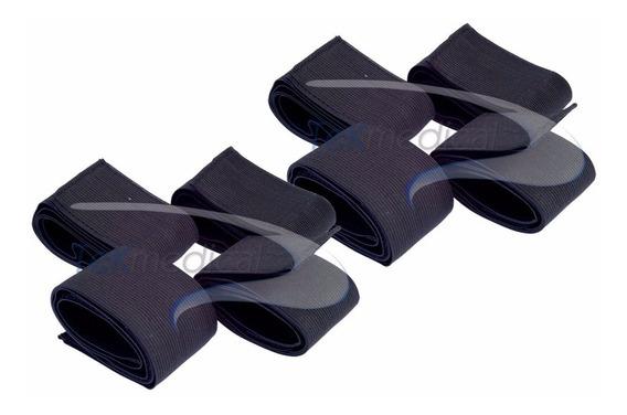Bandas Elásticas Para Electrodos - 4 Cortas Y 4 Largas