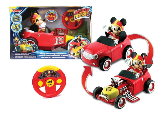 Auto Tranformable Mickey Roadster A Control R/c