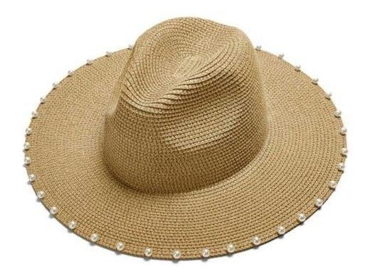 Sombrero Femenino De Sol. Moda Vacaciones Dama