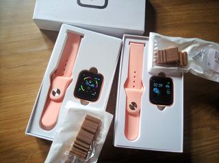 Relógio Smartwatch Original+pulseira Extra Rose Android/ios!