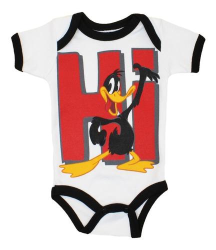Imagen 1 de 7 de Pañalero Pato Lucas Hi Looney Toons Original Bebé 23123