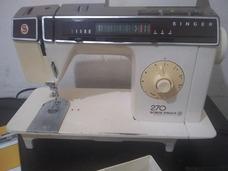 Maquina De Costura Singer 270 Bobina Magica